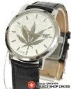 ルシアン ペラフィネ lucien pellat-finet dr05 アナログ 腕時計 型押しベルト リーフ シルバー 【男性用腕時計 リストウォッチ ランキング ブランド 防水 カラフル】