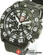 LUMINOX ルミノックス メンズ腕時計 US Navy SEALs カラーマーク クロノグラフ 3081 ホワイト×ブラック 【女性用腕時計 リストウォッチ ランキング ブランド かわいい ミリタリー スポーツ アウトドア】 【あす楽】