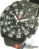LUMINOX ルミノックス メンズ腕時計 US Navy SEALs カラーマーク クロノグラフ 3081 ホワイト×ブラック 【女性用腕時計 リストウォッチ ランキング ブランド かわいい ミリタリー スポーツ アウトドア】