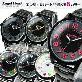 エンジェルハート AngelHeart 腕時計 ブラックレーベル ブラック BK37シリーズ ブラック×ブラック ブラック×ゴールド ブラック×ピンク 雑誌掲載多数 【女性用腕時計 リストウォッチ かわいい カラフル キラキラ 防水】 【はこぽす対応商品】