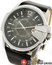 ディーゼル DIESEL 腕時計 リストウォッチ アナログ レザーベルト DZ1206 グレー