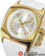 ディーゼル DIESEL レディース 腕時計 アナログ レザーベルト DZ5253 ホワイト 白×ゴールド 【女性用腕時計 リストウォッチ ランキング ブランド かわいい 革ベルト カラフル】 【楽ギフ_包装】 P27Mar15