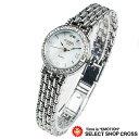 腕時計 FORBEL フォーベル ジュエリーウォッチ レディース 天然ダイアモンド2石 FB-1089DL ホワイトシェル×シルバー