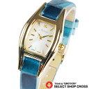 Audrey オードリー イタリアンレザーコレクション watch レディース腕時計 パール文字盤 WH0880-BL ブルー 【女性用腕時計 リストウォッチ ランキング かわいい カラフル】