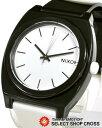 ニクソン NIXON 腕時計 メンズ レディース THE TIME TELLER P A119005 ブラック 黒×ホワイト 【男性用腕時計 腕時計ランキング】 【女性用腕時計 リストウォッチ ランキング ブランド かわいい カラフル】