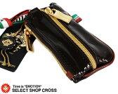 オロビアンコ Orobianco キーケース&コインケース portale-7027602 PVCブラウン/ゴールドファスナー