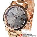 BURBERRY メンズ 腕時計 シティ ステンレス ブロンズ/桃金 BU9005