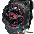 ベビーG カシオ Baby-G CASIO レディース 腕時計 アナログ BA-111-1ADR ブラック 海外モデル