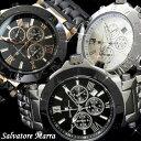 Salvatore Marra 腕時計 メンズ クロノグラフ SM7019 選べる5色