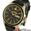 ヴィヴィアン・ウエストウッド Vivienne Westwood メンズ アナログ 腕時計 Camden Lock VV063BKBK ブラック/ゴールド