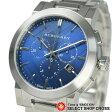 BURBERRY バーバリー 腕時計 ウォッチ ステンレス シティ クロノグラフ ブルー/シルバー BU9363