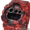 カシオ G-SHOCK メンズ 腕時計 デジタル GD-120CM-4DR 赤 迷彩柄