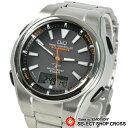 シチズン Q&Q 腕時計 アナデジ 5局電波ソーラー MD02-202 ブラック
