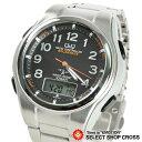 シチズン Q&Q 腕時計 アナデジ 5局電波ソーラー MD02-205 ブラック