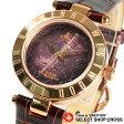 ヴィヴィアン・ウエストウッド Vivienne Westwood レディース 腕時計 アナログ オーブ レザーベルト VV092BRBR ブラウン/ピンクゴールド