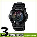 BABY-G CASIO 腕時計 レディース BGA-1110GR-1BJF ブラック