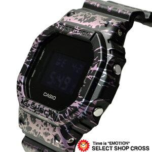 G-SHOCKCASIO������G����å�����ӻ���PolarizedMarbleSeries�ǥ�����DW-5600PM-1DR�֥�å�×�ޡ��֥볤����ǥ�