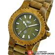 WEWOOD ウィーウッド DATE ARMY デイト アーミー NATURAL WOOD ナチュラルウッド ハンドメイド 木製腕時計 9818026
