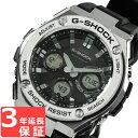 G-SHOCK CASIO カシオ Gショック メンズ 腕時計 電波ソーラー G-STEEL Gスチール アナデジ GST-W110-1ADR ブラック×シルバー 海外モデル 【あす楽】