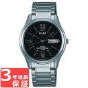 ALBA アルバ ソーラー メンズ 腕時計 AEFD553