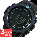 CASIO カシオ PRO TREK プロトレック メンズ 腕時計 電波ソーラー トリプルセンサーVer.3 デジタル PRW-3100Y-1DR ブラック 海...
