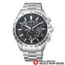 特価 CITIZEN シチズン 腕時計 シチズンコレクション エコ・ドライブ電波 パーフェックスマルチ3000 ブラック×シルバー BY0130-51E