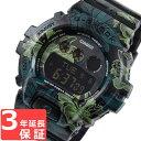 カシオ CASIO Gショック G-SHOCK S Series Sシリーズ GMD-S6900F-1DR グリーン 花柄 腕時計 メンズ 海外モデル
