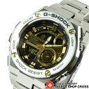 G-SHOCK Gショック CASIO カシオ G-STEEL Gスチール メンズ クオーツ 腕時計 ブラック×ゴールド GST-210D-9ADR 海外モデル