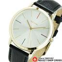 ポールスミス 腕時計 エムエー レザーベルト 銀×金/黒P10059