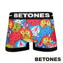 BETONES ビトーンズ ボクサーパンツ メンズ BETONES×COSMOS-ALIEN-SERIES Collaboration コスモス エイリアンコラボ MIX ミックス CAS001-1-MIX