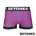 BETONES ビトーンズ ボクサーパンツ メンズ BETONES×COSMOS-ALIEN-SERIES Collaboration コスモス エイリアンコラボ RED レッド CAS001-2-RE 【あす楽】