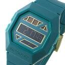 コモノ KOMONO Power Grid After Eight Green ソーラー デジタル 腕時計 KOM-W2054 エメラルドグリーン