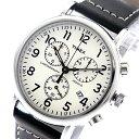 タイメックス TIMEX インディグロ INDIGLO クオーツ メンズ 腕時計 TW2R42800 オフホワイト/ブラック 海外輸入品 【あす楽】