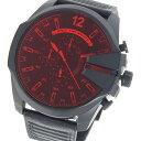 ディーゼル DIESEL クオーツ メンズ 腕時計 DZ4460 レッド/ブラック