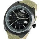 ヴィヴィアン ウエストウッド Vivienne Westwood クオーツ メンズ 腕時計 VV136BKBG ブラック