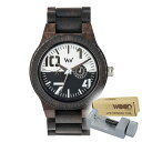 WEWOOD ウィーウッド 正規品 OBLIVIO BLACK-WHITE 木製腕時計&純正器具セット ベルトコマ調整工