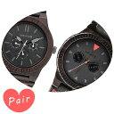 【ペアウォッチ】 【素敵なラッピング付】 WEWOOD ウィーウッド 正規品 腕時計ナチュラルウッド ハンドメイドカッパブラックレオテッラブラックwewood-9818029wewood-9818094
