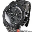 LUMINOX 腕時計 リストウォッチ クロノグラフ Navy SEALs 3182 Blackout 黒
