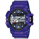 【あす楽】 【3年保証】 CASIO カシオ Gショック 防水 G-SHOCK ジーショック ジーミックス 腕時計 メンズ アナデジ アナログ デジタル GBA-400-2A ブルー×パープル×シルバー