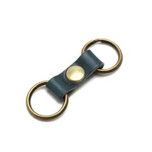 伝統の栃木レザー ミニキーリング キーホルダー キー