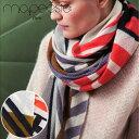 マポエジー MAPOESIE レディース ウール マフラー ストール スカーフ レッド ブラウン グレー ブラック ライトグレー K-EPURE VERMILLON