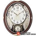シチズンl CITIZEN Rhythm Clock リズムクロック スモールワールド クォーツ 掛時計 4mn509rh23 ブラウン×ホワイト