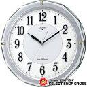シチズンl CITIZEN Ribaraito リバライト クォーツ 掛時計 4my80219 シルバー×ホワイト