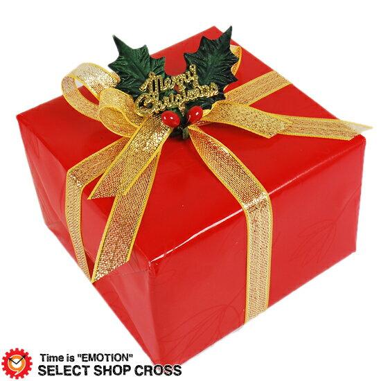 クリスマスギフトラッピング★レッド 赤×ゴールド ※当店他商品をお買い上げのお客様限定販売【着後レビューを書いて1000円OFFクーポンGET】