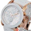 ディーゼル DIESEL レディース 腕時計 クロノグラフ DZ5323 メタルベルト ホワイト 白 白 【女性用腕時計 リストウォッチ ランキング ブランド かわいい カラフル】 【楽ギフ_包装】 P27Mar15