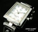 アンクラーク ANNE CLARK レディース 腕時計 ブランド アナログ トランプ 天然シェル文字盤 AA1030-09 ホワイト 白/シルバー