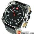 ウェンガー WENGER 腕時計 アナログ メンズ Aerograp エアログラフ 72425 ブラック 黒