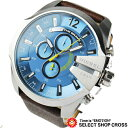 DIESEL ユニセックス 腕時計 リストウォッチ クロノグラフ DZ4281 青/銀/茶