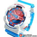 Gショック カシオ 腕時計 リストウォッチ GA-110AC-7ADR 白/赤/ライトブルー