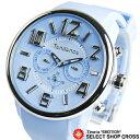 Tendence テンデンス 腕時計 アナログ ユニセックス クロノグラフ G-47 Multifunction TG765002 ライトブルー